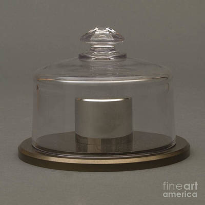 Platinum Photograph - National Standard Of Mass, Kilogram by NIST/Science Source