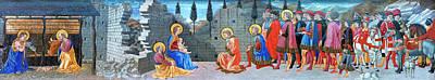 Photograph - Nativity Story by Munir Alawi