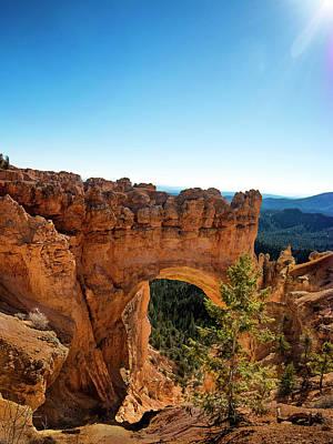 Photograph - Natural Bridge At Bryce Canyon National Park by Phil Cardamone