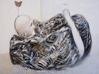 India Babas Painting - Neem Karoli Baba by Alexander Carletti