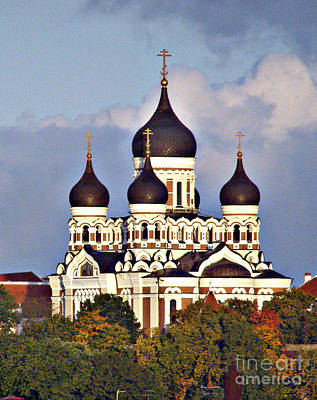 Nevsky Cathedral Estonia Art Print