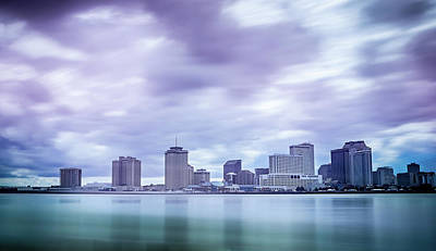 Photograph - New Orleans Louisiana City Skyline And Street Scenes by Alex Grichenko