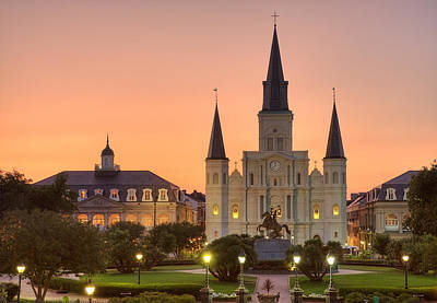 Photograph - New Orleans St Louis Cathedral by Marie-Dominique Verdier