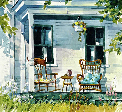 Painting - Take A Seat by Art Scholz