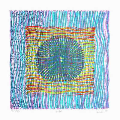 Painting - Colorweaves 45 by Hermann Lederle