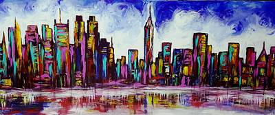 Painting - New York City by Hae Kim