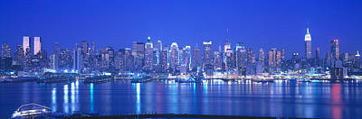 New York City Photograph - New York City Ny by Panoramic Images