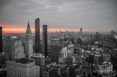 Digital Art - New York City  by Roman Gomez