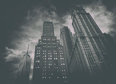 City Scenes Royalty-Free and Rights-Managed Images - New York Highrise by Martin Newman