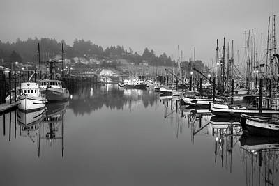 Photograph - Newport Fishing Boats by Jon Glaser