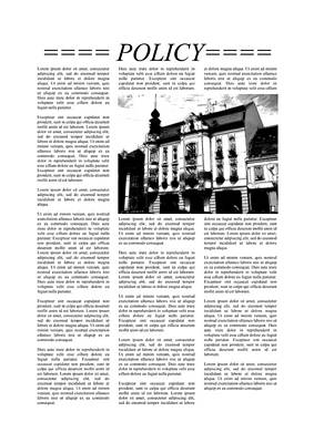 Caption Digital Art - Newspaper Page With Lorem Ipsum Text by Miroslav Nemecek