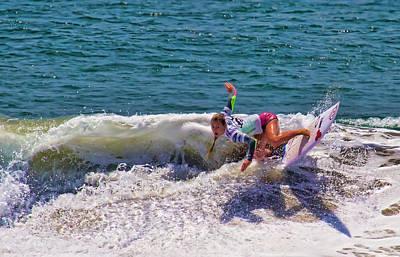 Photograph - Nikki Van Dijk Surfer by Waterdancer
