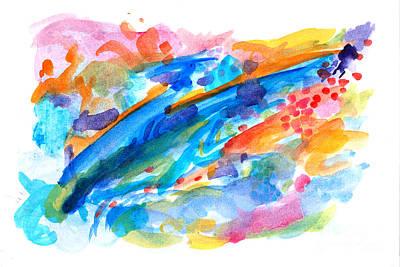 Painting - Nine by Expressionistart studio Priscilla Batzell