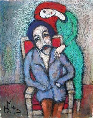 Mixed Media - Non  by Mahmoud Zayed