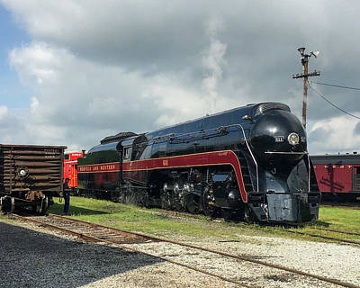 Photograph - Norfolk And Western J-class 611 by John Black