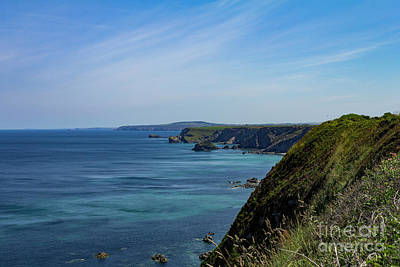 Photograph - North Coast Cornwall by Brian Roscorla