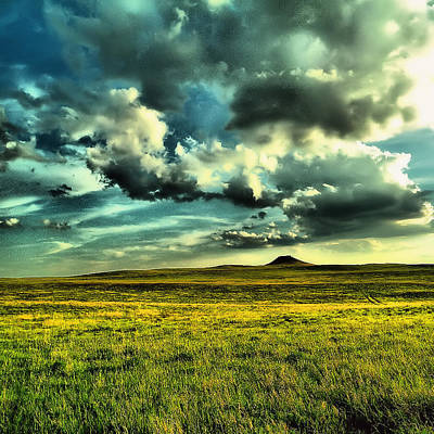 Photograph - North Dakota Landscape by Jeff Swan