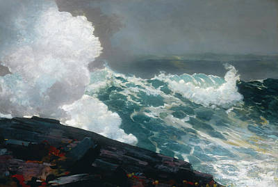 Noreaster Painting - Northeaster by Winslow Homer