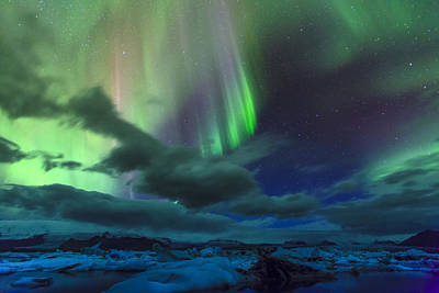 Photograph - Northern Lights by Alexey Stiop