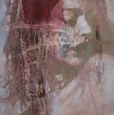 Portrait Mixed Media - Fading by Paul Lovering