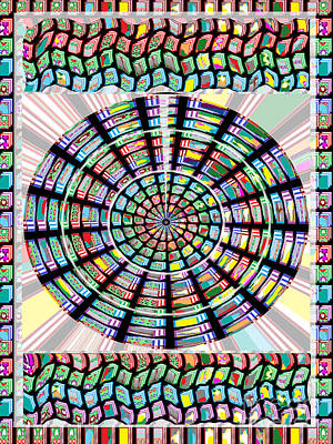 Painting - Novino Sale Fineart Chakra Mandala Round Circle Inspirational Healing Art At Fineartamerica.com By N by Navin Joshi