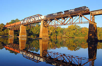 Photograph - Ns Over The Congaree by Joseph C Hinson Photography