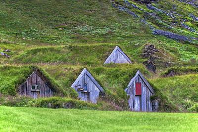 Farm Houses Photograph - Nupsstadur - Iceland by Joana Kruse