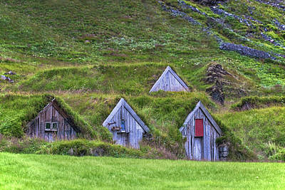 Old Churches Photograph - Nupsstadur - Iceland by Joana Kruse