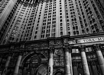 Nyc Buildings Art Print by Patrick  Flynn