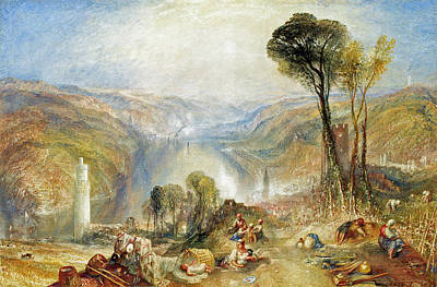 Painting - Oberwesel by Joseph Mallord William Turner