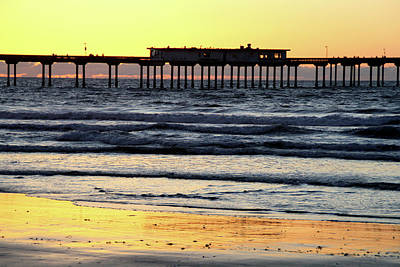 Photograph - Ocean Beach Pier by Christopher Woods