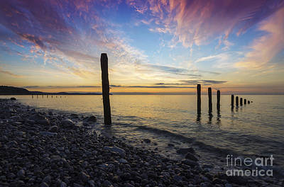 Photograph - Ocean Sunset by Ian Mitchell