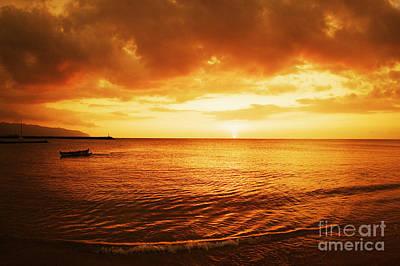 Ocean Sunset Art Print by Vince Cavataio - Printscapes
