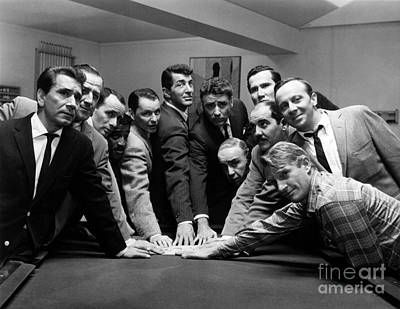 Ocean's 11 Promotional Photo Art Print by The Titanic Project
