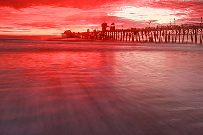 Photograph - Oceanside Pier by Ben Graham