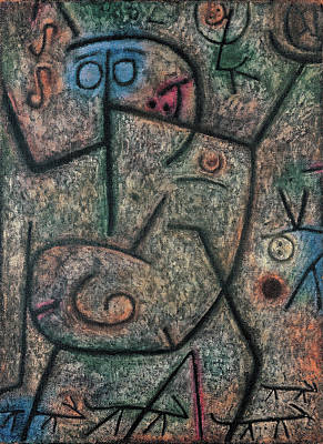 Rider Painting - Oh, These Rumors by Paul Klee