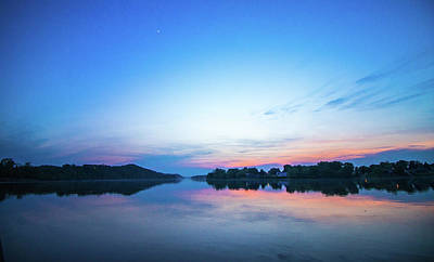 Photograph - Ohio River At Sunset by Jonny D