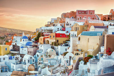 Photograph - Oia, Santorini - Greece by Stavros Argyropoulos