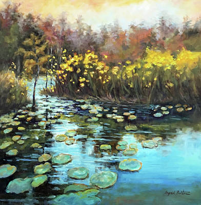 Okefenokee Swamp Landscape Original