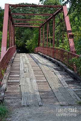 Not In Use Photograph - Old Alton Bridge  by Ruth  Housley