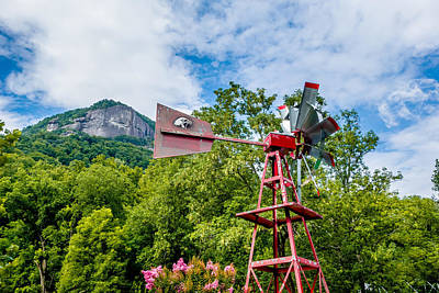 Nirvana - Old antique Aermotor windmill used to pump water by Alex Grichenko