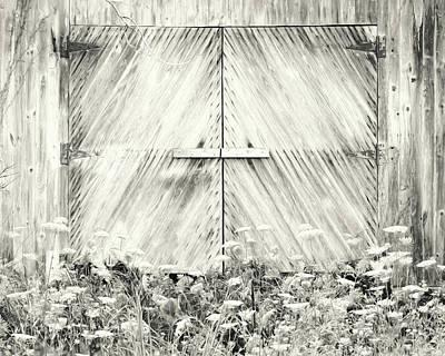 Photograph - Old Barn Doors by Lori Deiter