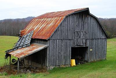 Photograph - Old Barn by Kathryn Meyer