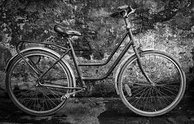 Old Bike Art Print