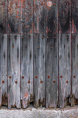 Photograph - Old Door Detail by Carlos Caetano