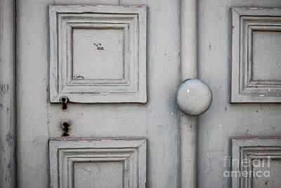 Painted Details Photograph - Old Door Detail by Elena Elisseeva