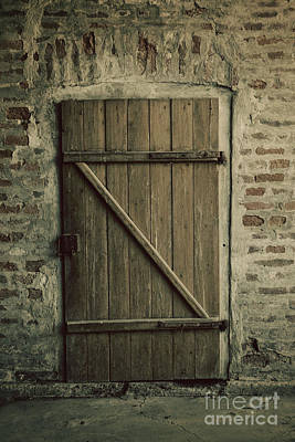 Old Door Art Print by Mythja Photography