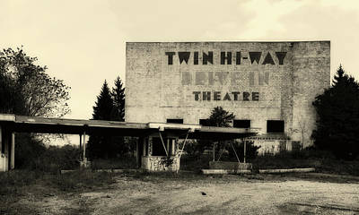 Photograph - Old Drive In Theatre by L O C