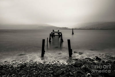 Caledonian Canal Photograph - Old Jetty Loch Linnhe... by Sebastien Coell