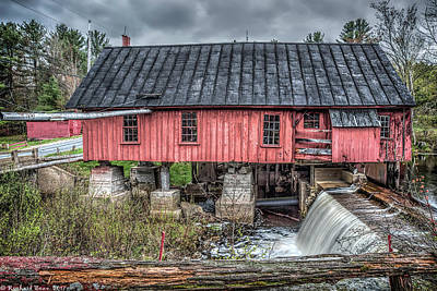 Photograph - Old Mill Boards by Richard Bean
